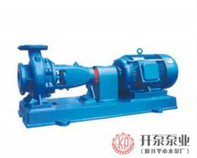 IS series horizontal single-stage single-suction centrifugal pump