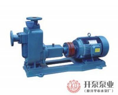ZW-ZWP series non-blocking self-priming sewage pump