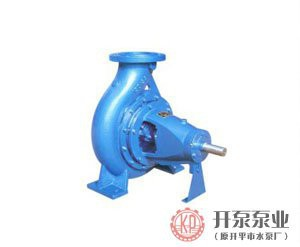 XA series single-stage single-suction centrifugal pump